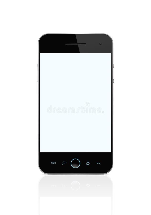 κενό τηλέφωνο μονοπατιών ψαλιδίσματος έξυπνο στοκ εικόνες με δικαίωμα ελεύθερης χρήσης