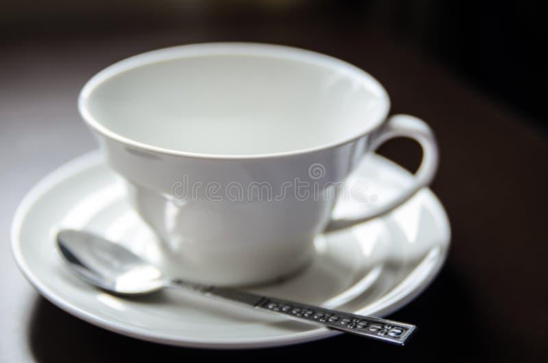 Κενό φλιτζάνι του καφέ στοκ εικόνα