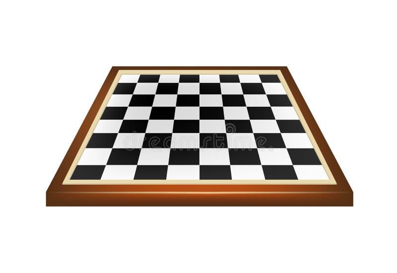 Κενό χαρτόνι σκακιού ελεύθερη απεικόνιση δικαιώματος