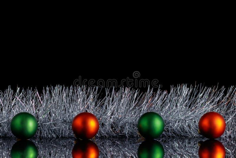 Κενό Χριστουγέννων για την επιγραφή Σε ένα ο Μαύρος απομονωμένο υπόβαθρο υπάρχει διαστημικός για το διάστημα αντιγράφων στοκ φωτογραφίες με δικαίωμα ελεύθερης χρήσης