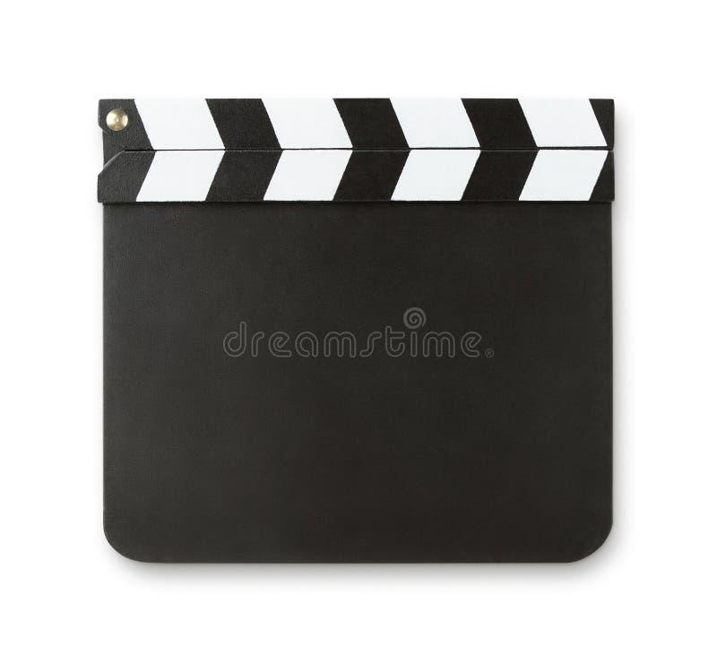 Κενό clapboard με το διάστημα αντιγράφων στοκ φωτογραφία με δικαίωμα ελεύθερης χρήσης