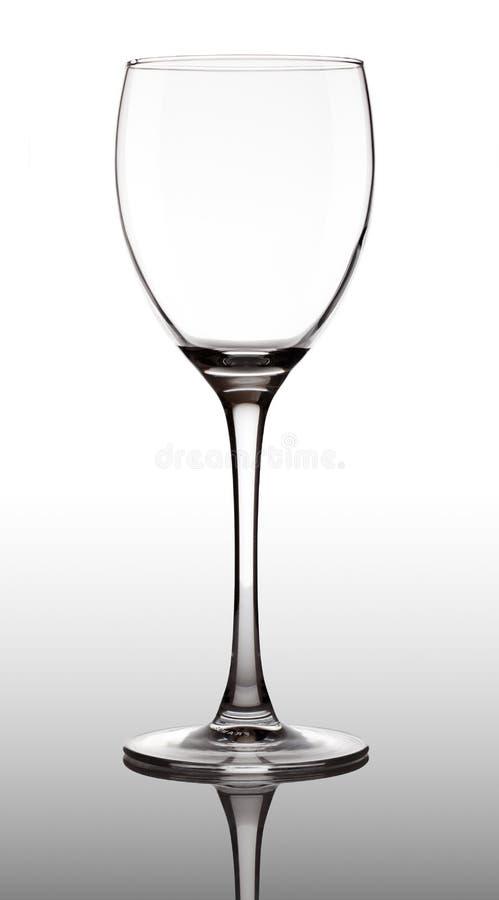 κενό goblet γυαλιού διαφανές στοκ φωτογραφίες με δικαίωμα ελεύθερης χρήσης