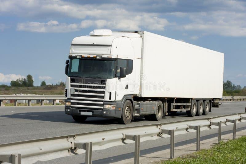 κενό truck στοκ εικόνα