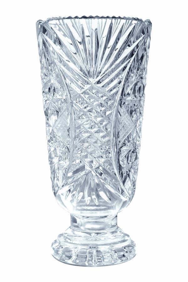 κενό vase κρυστάλλου στοκ φωτογραφίες