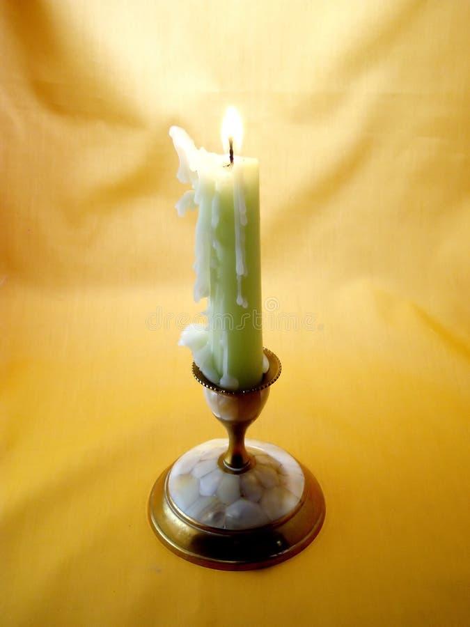 Κερί και κηροπήγιο Στοκ Εικόνες
