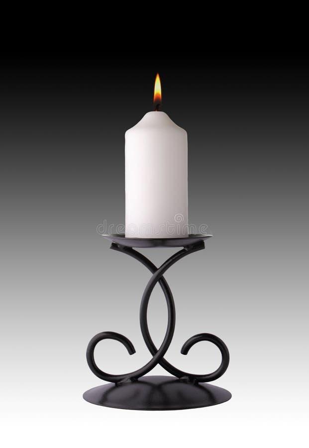 Κερί στο κηροπήγιο ελεύθερη απεικόνιση δικαιώματος