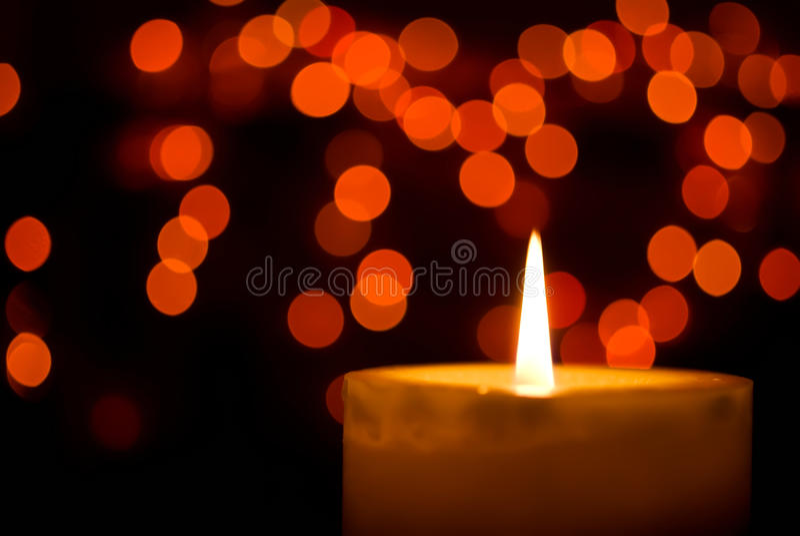 Κερί Χριστουγέννων στοκ εικόνες με δικαίωμα ελεύθερης χρήσης