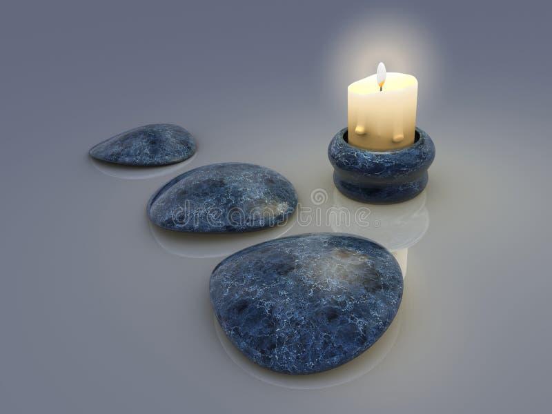 Κερί 1 στοκ εικόνα