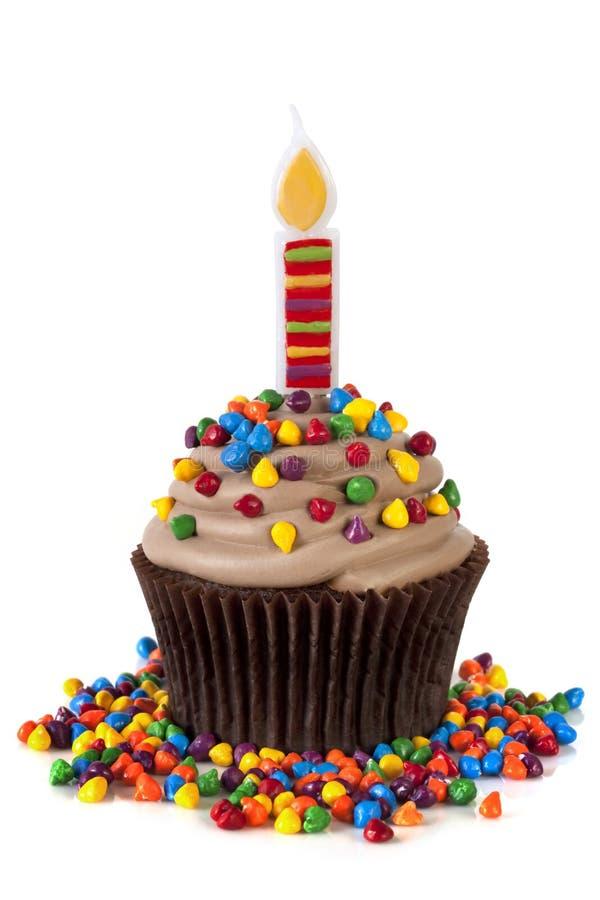 κερί cupcake στοκ εικόνες με δικαίωμα ελεύθερης χρήσης