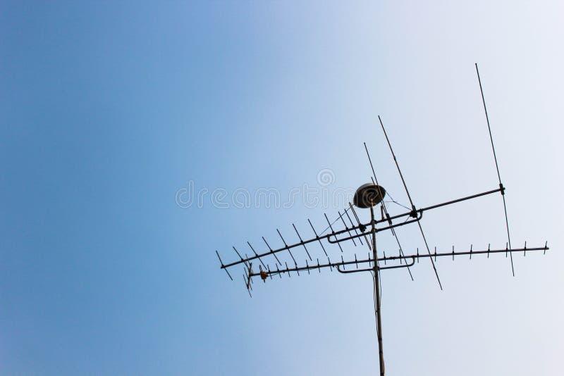 Κεραία TV στοκ φωτογραφία