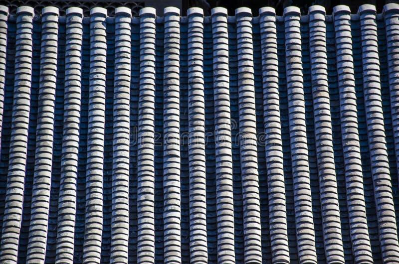 Κεραμίδια στη στέγη στοκ φωτογραφίες