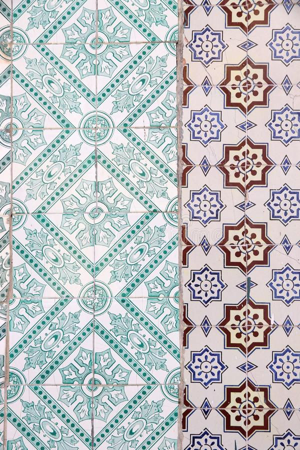Κεραμίδια της Λισσαβώνας στοκ εικόνα με δικαίωμα ελεύθερης χρήσης
