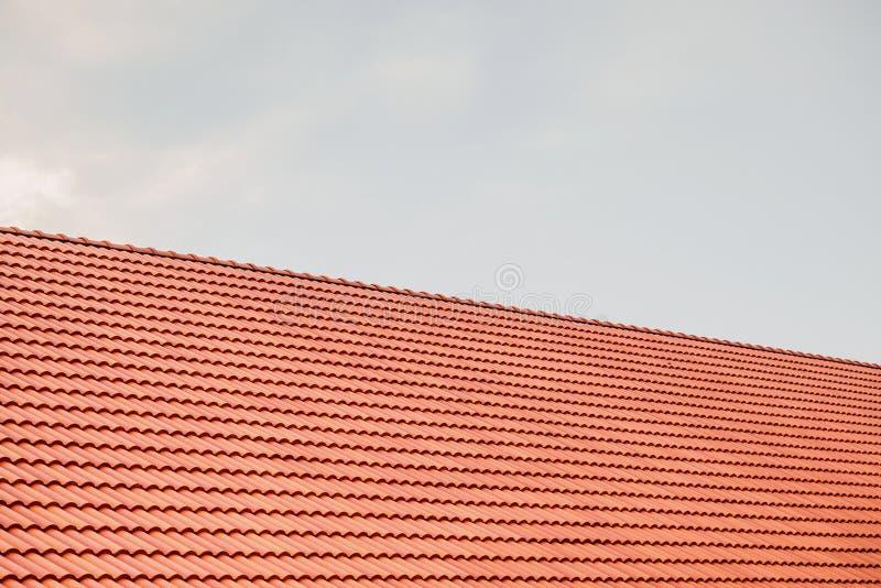 Κεραμίδια στεγών σπιτιών στοκ εικόνες