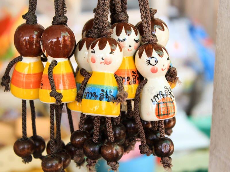 κεραμικές κούκλες στοκ φωτογραφία με δικαίωμα ελεύθερης χρήσης