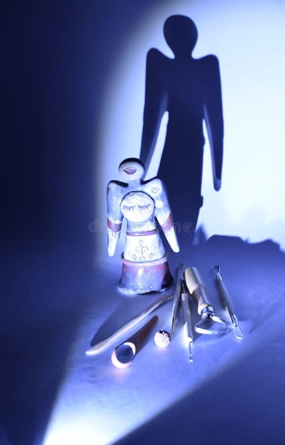 Κεραμική ακόμα ζωή σύστασης στοκ εικόνα με δικαίωμα ελεύθερης χρήσης