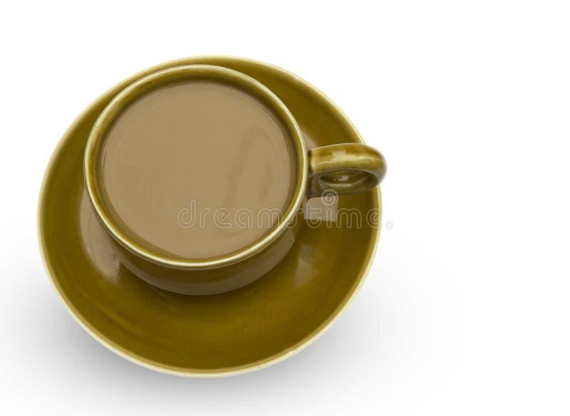 Κεραμική κούπα καφέ στοκ εικόνες