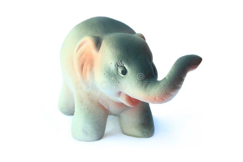 Κεραμικός ελέφαντας στοκ φωτογραφία