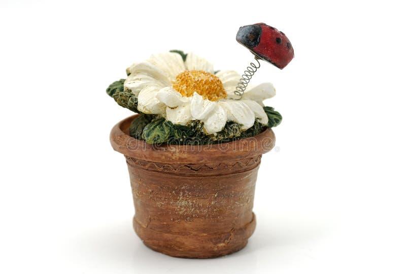 κεραμικό λουλούδι στοκ φωτογραφίες