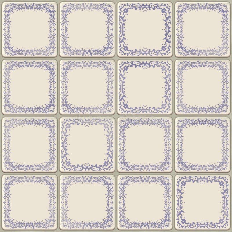Download κεραμικό παλαιό κεραμίδι απεικόνιση αποθεμάτων. εικονογραφία από μικτός - 22790418