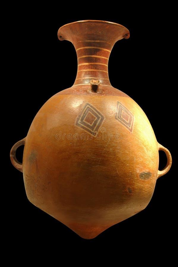 κεραμικό inca προ στοκ φωτογραφία