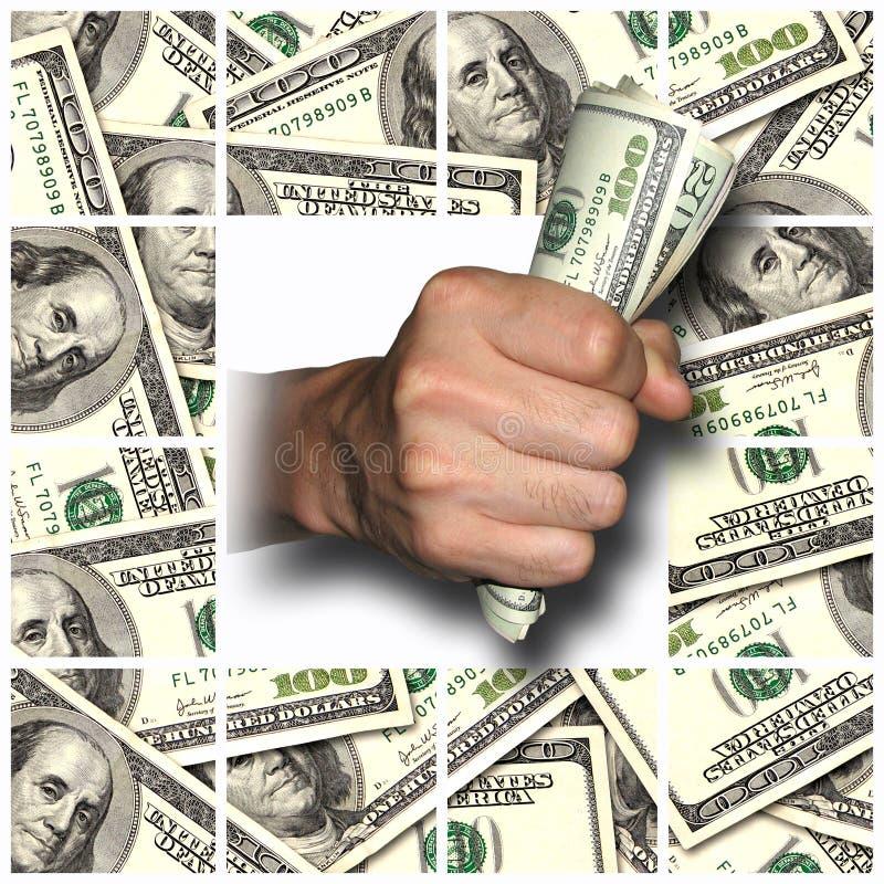 κερδίστε δίνει τα χρήματα &ep στοκ εικόνες