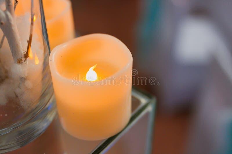 κεριά διακοσμητικά στοκ εικόνα με δικαίωμα ελεύθερης χρήσης
