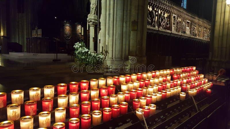 Κεριά στο Ð ¡ hurch στοκ φωτογραφίες με δικαίωμα ελεύθερης χρήσης