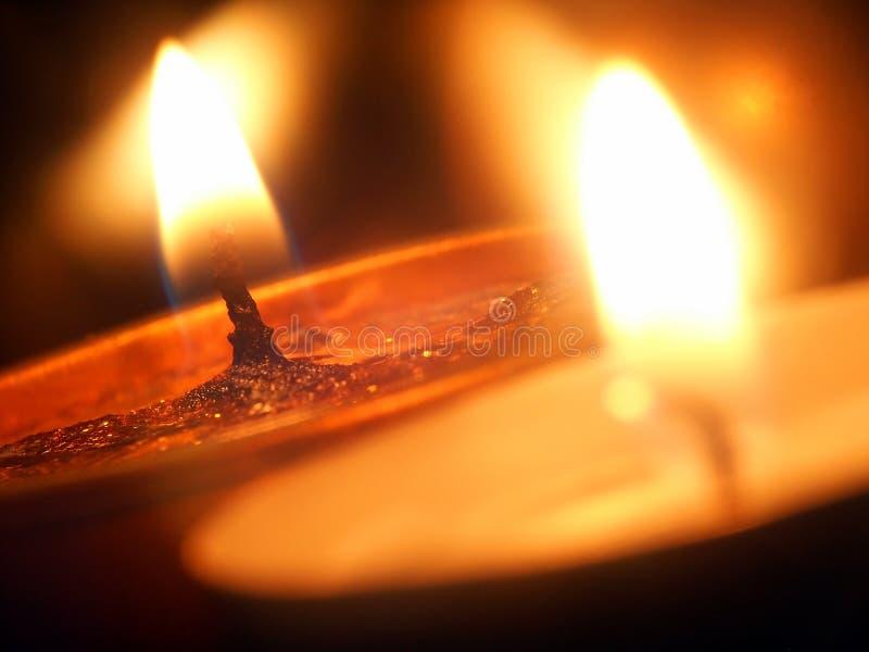 Κεριά στοκ φωτογραφία