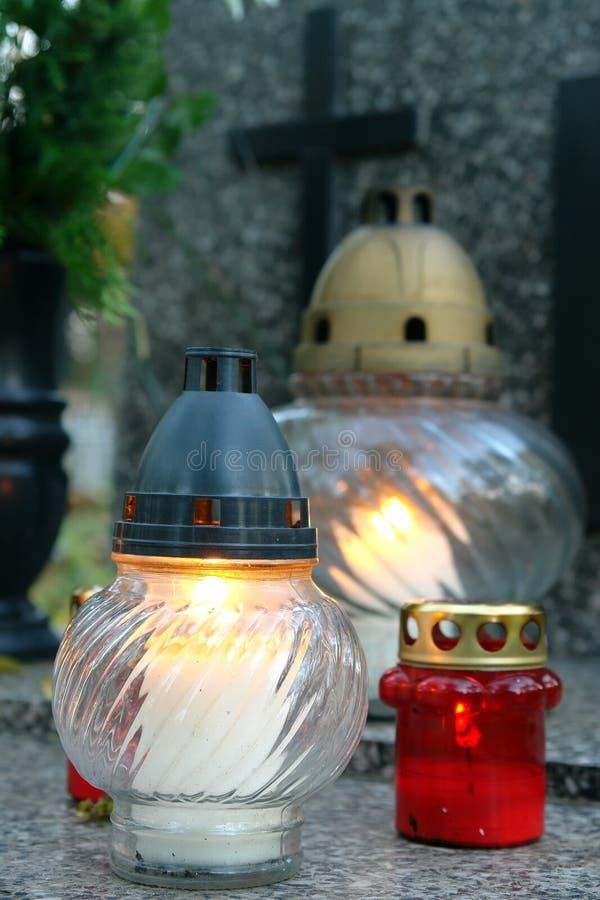 κεριά votive στοκ φωτογραφία με δικαίωμα ελεύθερης χρήσης