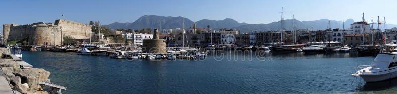 Κερύνεια (Girne), Κύπρος στοκ φωτογραφία με δικαίωμα ελεύθερης χρήσης