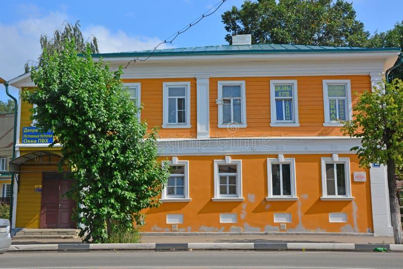 Κερδοφόρο σπίτι των εμπόρων Sveshnikov σε pereslavl-Zalessky, Ρωσία στοκ εικόνες με δικαίωμα ελεύθερης χρήσης