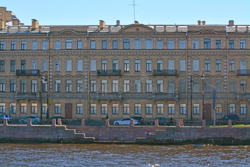 Κερδοφόρο σπίτι των εμπόρων Yeliseyev στη Αγία Πετρούπολη, Ρωσία στοκ εικόνες