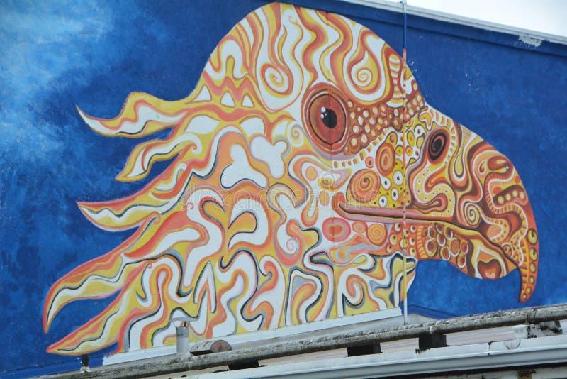 Κεφάλι αετού στο κέντρο του Κορβάλις Όρεγκον στοκ φωτογραφία με δικαίωμα ελεύθερης χρήσης