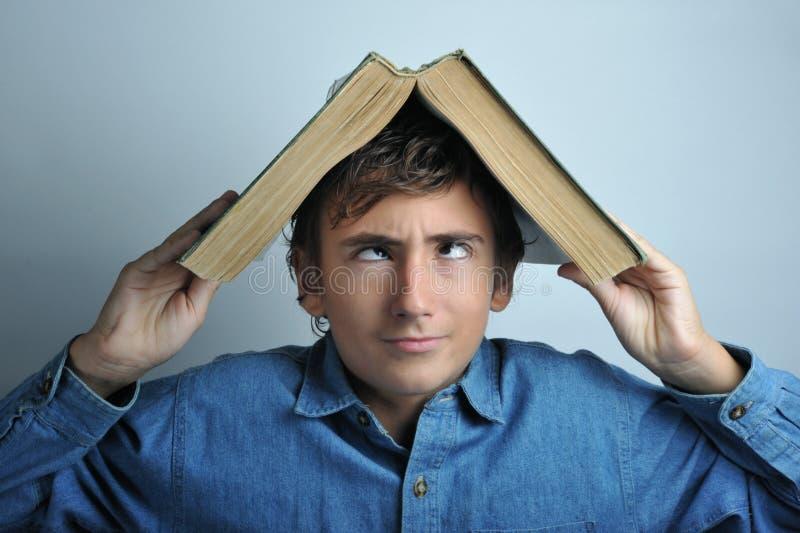 κεφάλι βιβλίων στοκ εικόνα