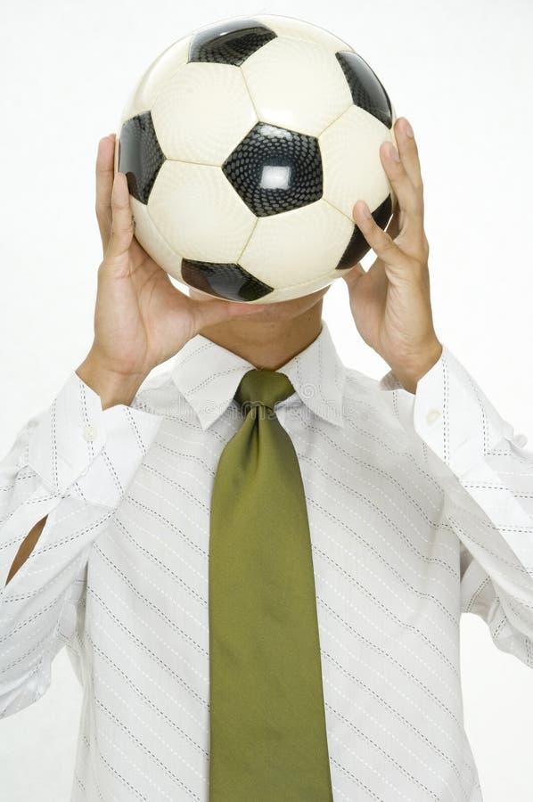 Κεφάλι για το ποδόσφαιρο στοκ φωτογραφία με δικαίωμα ελεύθερης χρήσης