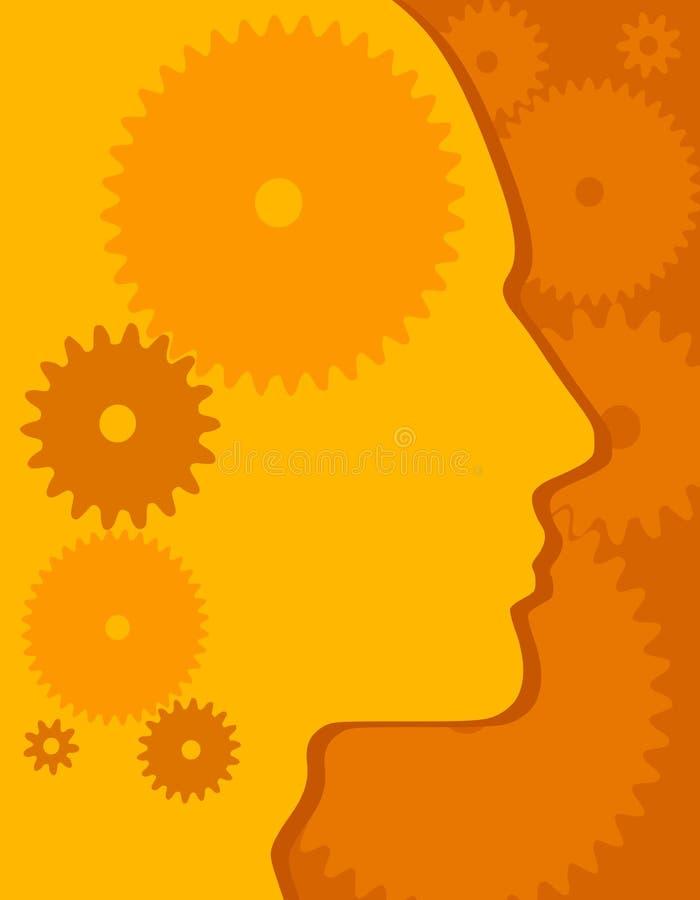 κεφάλι εργαλείων ανασκόπησης απεικόνιση αποθεμάτων