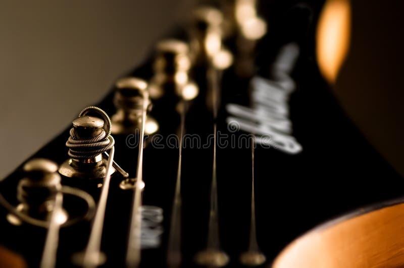 κεφάλι κιθάρων στοκ φωτογραφία