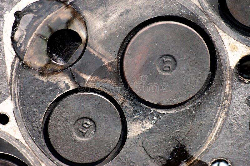 κεφάλι μηχανών diesel στοκ εικόνα με δικαίωμα ελεύθερης χρήσης