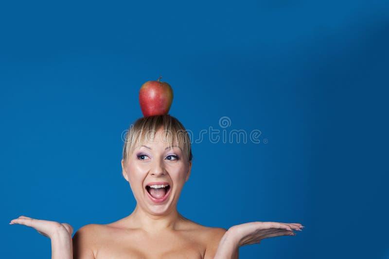 κεφάλι νυφών μήλων στοκ εικόνα