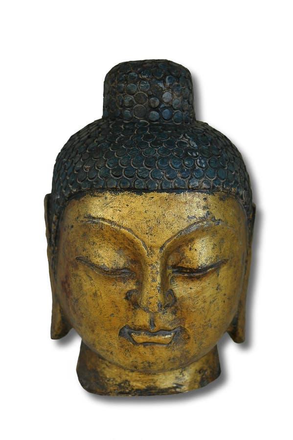 κεφάλι του Βούδα στοκ φωτογραφία