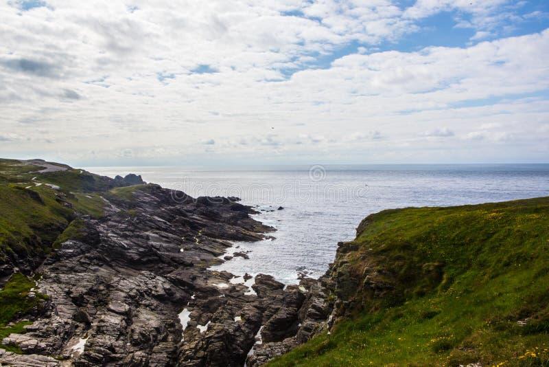Κεφάλι Malin στην Ιρλανδία στοκ φωτογραφίες
