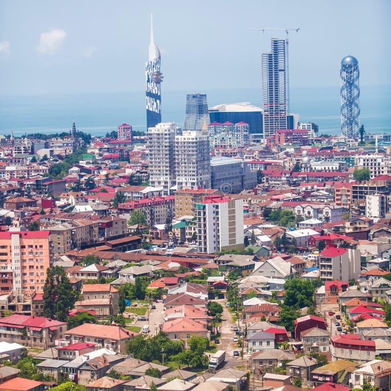 Κεφάλαιο Adjara, Batumi στοκ εικόνα