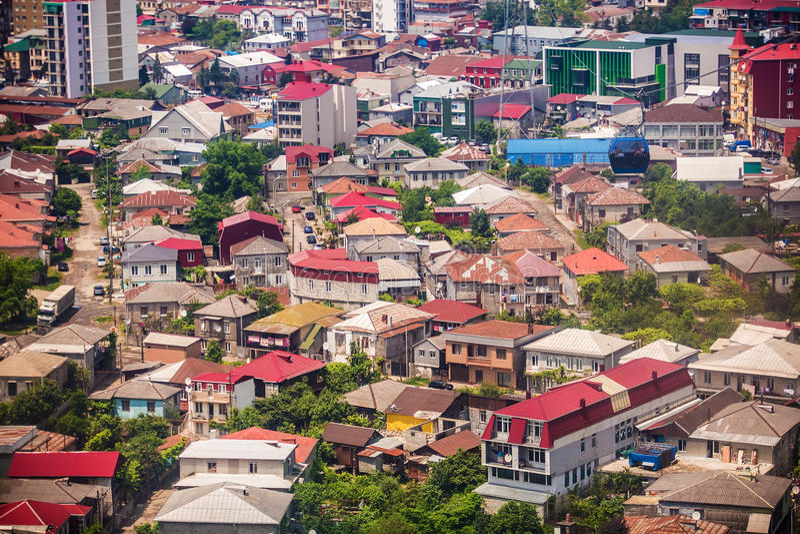 Κεφάλαιο Adjara, Batumi στοκ φωτογραφία
