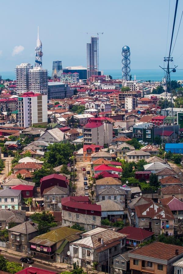 Κεφάλαιο Adjara, Batumi στοκ εικόνες