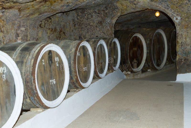 Κελάρια κρασιού στοκ φωτογραφία με δικαίωμα ελεύθερης χρήσης