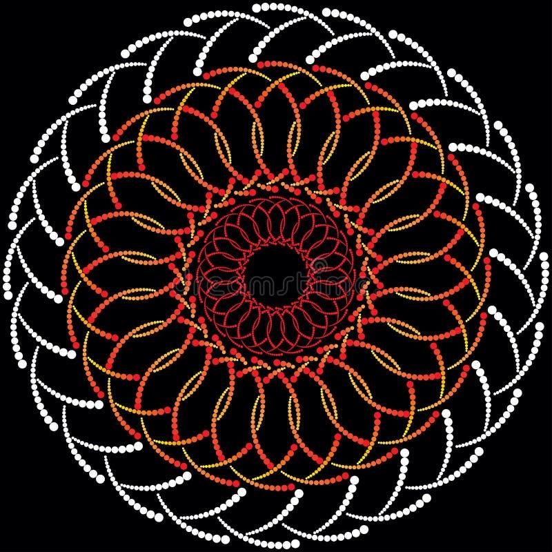 Κελτική διακόσμηση από τους κύκλους στοκ φωτογραφία με δικαίωμα ελεύθερης χρήσης
