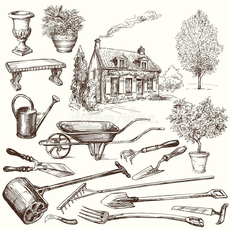 Κηπουρική απεικόνιση αποθεμάτων