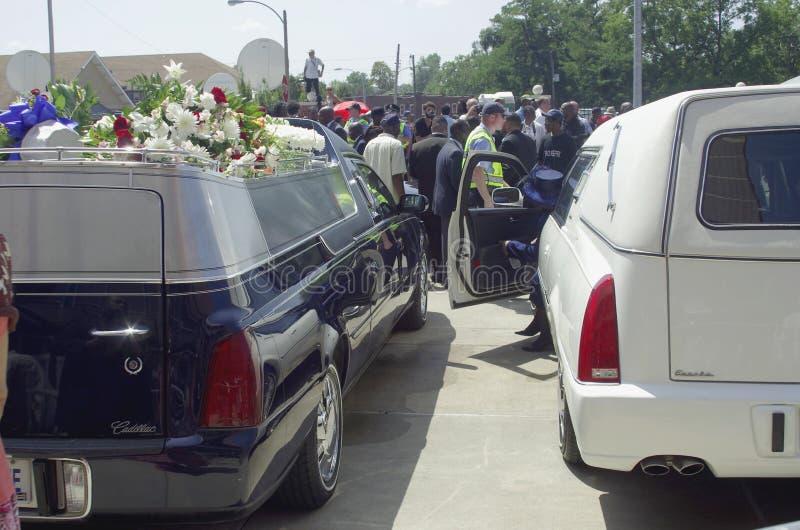 Κηδεία του Michael Brown στοκ φωτογραφίες