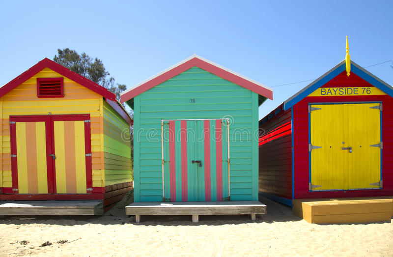Κιβώτια στο Μπράιτον, Αυστραλία στοκ εικόνα με δικαίωμα ελεύθερης χρήσης