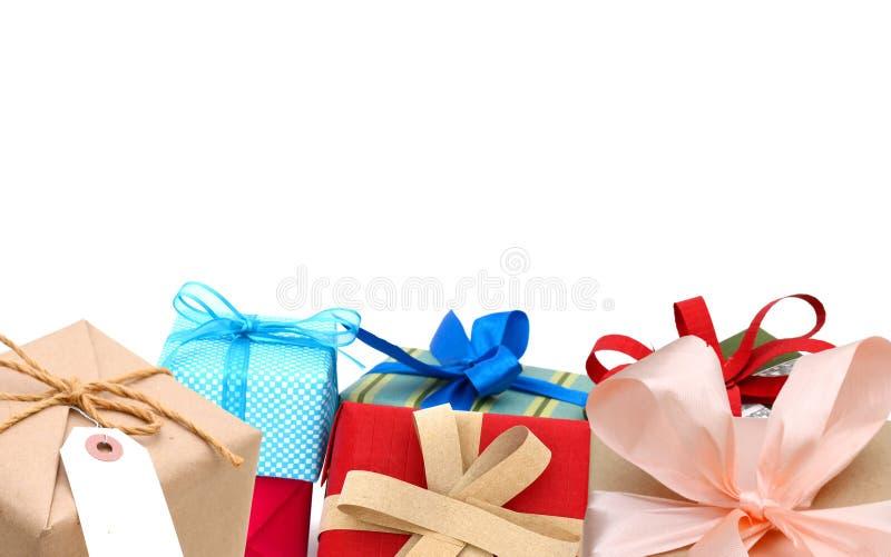 Κιβώτια δώρων, ημέρα χαιρετισμών στοκ εικόνα με δικαίωμα ελεύθερης χρήσης